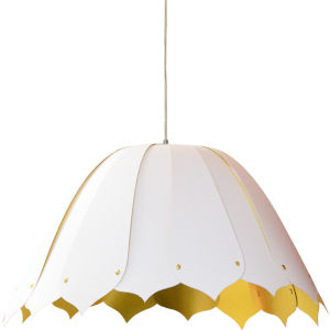 Noa White Gold 21-Inch One-Light Pendant