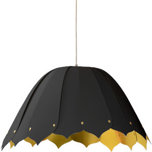 Noa Black Gold 21-Inch One-Light Pendant