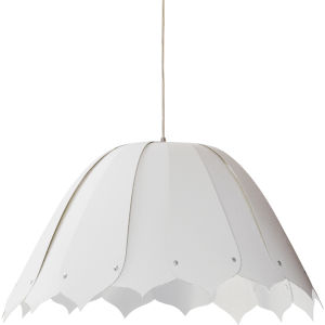Noa White 21-Inch One-Light Pendant
