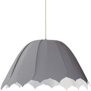 Noa Gray 21-Inch One-Light Pendant