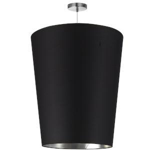 Paisley Black Silver 20-Inch One-Light Pendant