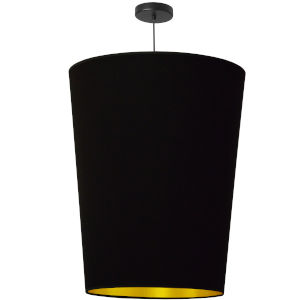Paisley Black Gold 20-Inch One-Light Pendant