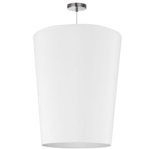 Paisley White 20-Inch One-Light Pendant