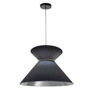 Patricia Black Silver One-Light Pendant