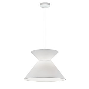 Patricia White One-Light Pendant