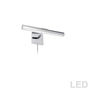 Leonardo Polished Chrome Two-Light LED Picture Light
