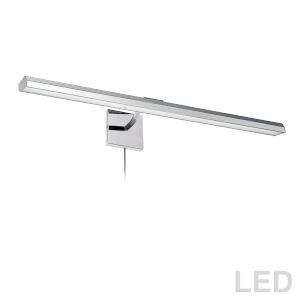 Leonardo Polished Chrome Four-Light LED Picture Light