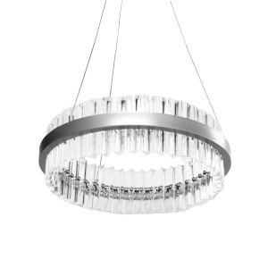 Reina Polished Chrome with Clear LED Chandelier