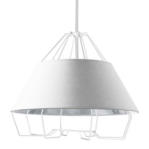 Rockwell White Four-Light Pendant