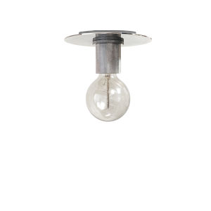 Roswell Polished Chrome Eight-Inch One-Light Flush Mount