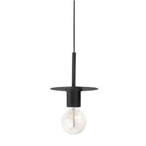Roswell Matte Black Eight-Inch One-Light Mini Pendant