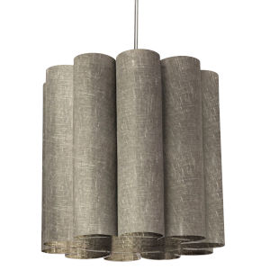 Sandra Milano Gray 19-Inch One-Light Pendant