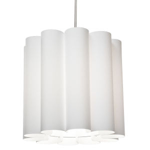 Sandra White 19-Inch One-Light Pendant