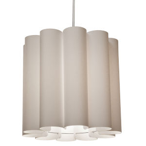 Sandra Latte 19-Inch One-Light Pendant