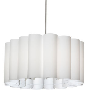 Sandra White 24-Inch Four-Light Pendant