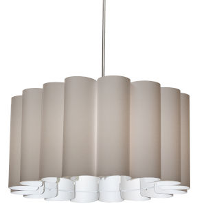 Sandra Latte 24-Inch Four-Light Pendant