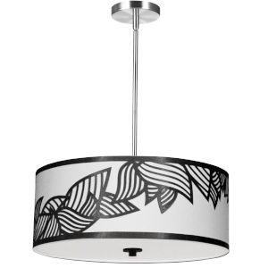 Sophia Black 19-Inch Four-Light Pendant