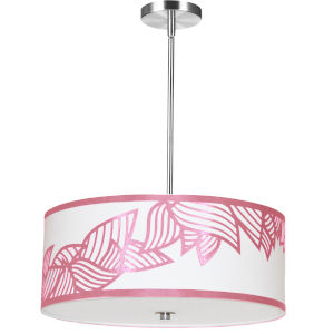 Sophia Pink 19-Inch Four-Light Pendant
