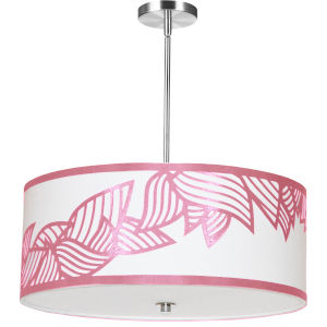 Sophia Pink 24-Inch Four-Light Pendant