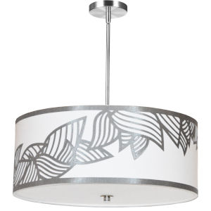 Sophia Silver 24-Inch Four-Light Pendant