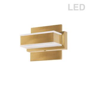 Gold LED Bath Vanity