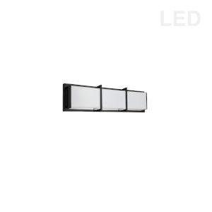 Winston Matte Black 17-Inch LED Bath Bar