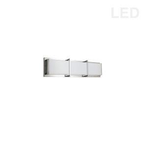 Winston Polished Chrome 17-Inch LED Bath Bar