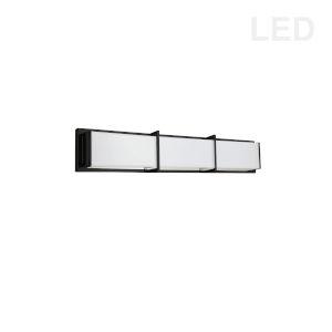 Winston Matte Black 24-Inch LED Bath Bar