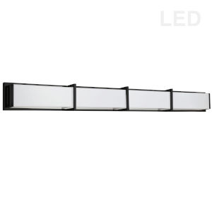 Winston Matte Black 46-Inch LED Bath Bar