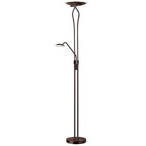 Bronze 12-Inch One-Light LED Floor Lamp