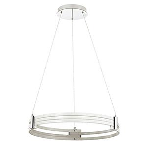 Pono Matte White 24-Inch LED Pendant