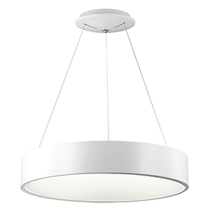 LED White 24-Inch LED Pendant