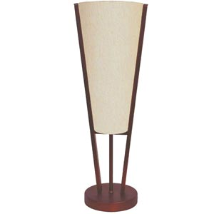 Oil Brushed Bronze One-Light Table Lamp with Linen Shade