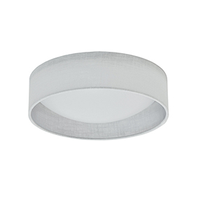White 11-Inch LED Flush Mount