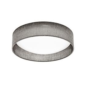 Grey 11-Inch LED Flush Mount
