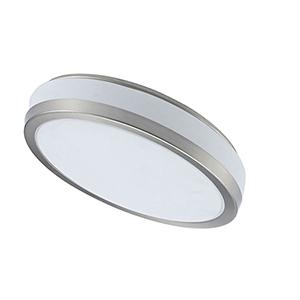 LED Satin Chrome 16-Inch LED Flush Mount