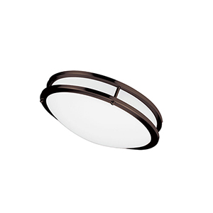 LED Bronze 12-Inch LED Flush Mount
