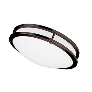 LED Bronze 16-Inch LED Flush Mount