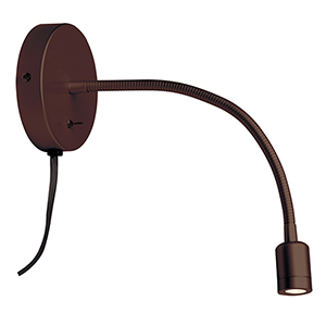 LED Oil Brushed Bronze 15-Inch LED Wall Lamp