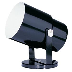 Utility Gloss Black Wall Spot or Floor Pod