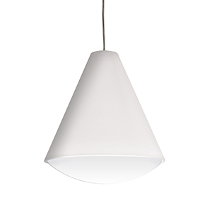 Pendants White 13-Inch LED Pendant