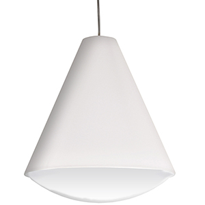 Pendants White 17-Inch LED Pendant
