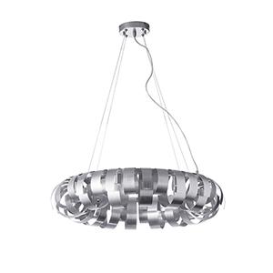 Harmony Silver 23-Inch Six-Light Pendant