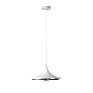 Helsinki Matte White 14-Inch One-Light Pendant