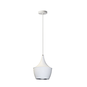 Helsinki Matte White 9-Inch One-Light Mini Pendant