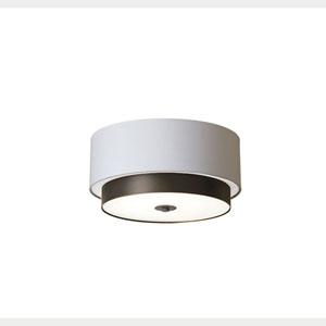 Larkin White Four-Light 20-Inch Flush Mount