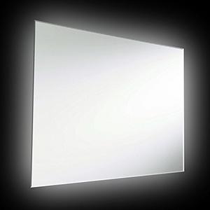 Silver 24-Inch LED Vanity Mirror