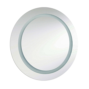 Silver 30-Inch LED Vanity Mirror