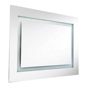Silver 26-Inch LED Vanity Mirror