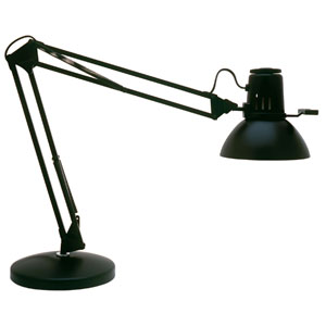 Koncept Z Bar Solo Mini Metallic Black Led Desk Lamp With